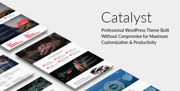 Catalyst 自适应多用途 WordPress主题