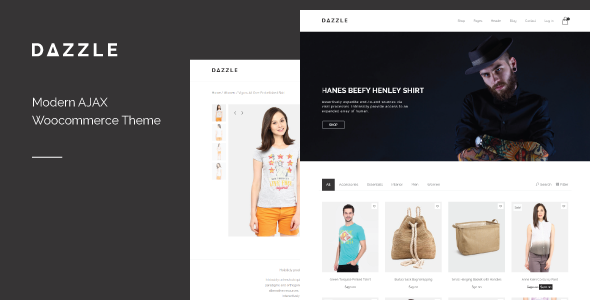 Dazzle AJAX Woocommerce购物商城 WordPress主题 v1.1