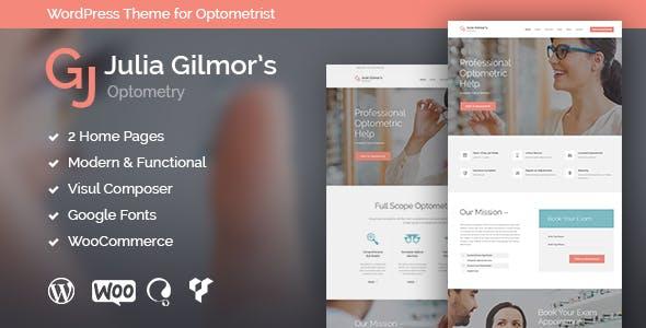 Optometry – 验光师光学眼镜师商店WordPress主题 – v1.3.3