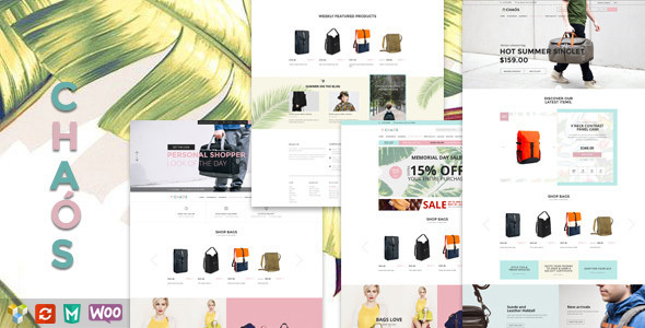 Chaos 购物商城woocommerce WordPress主题 – v1.4.2-WordPress主题推荐